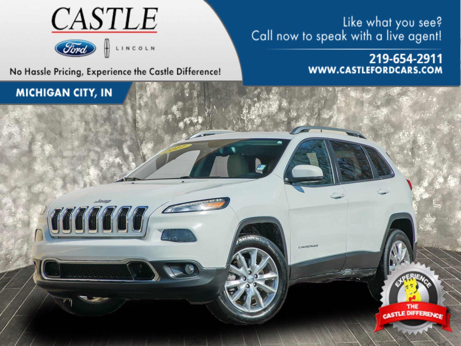 Pre Owned 2017 Jeep Cherokee Limited