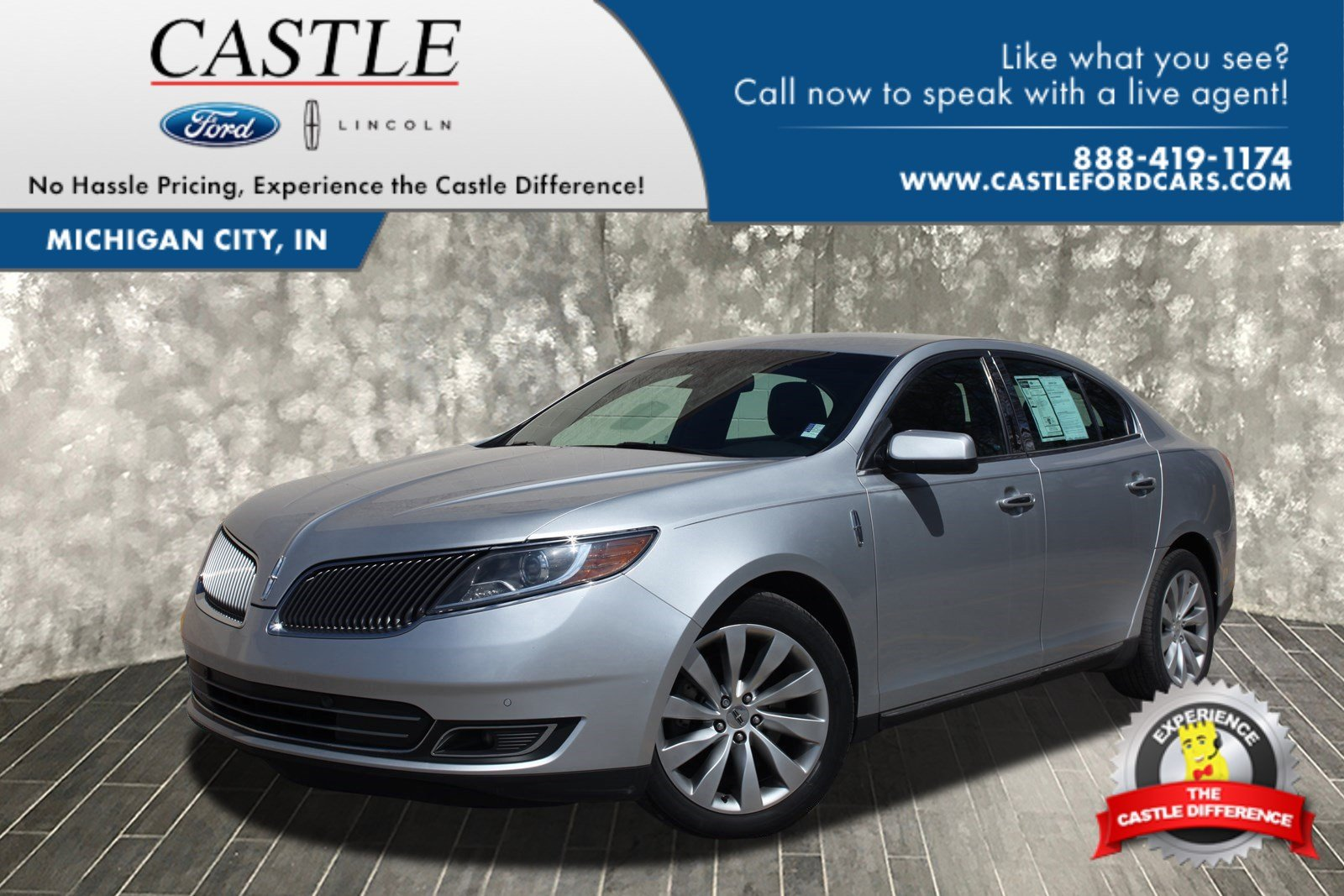 Pre Owned 2014 Lincoln Mks 4dr Car In Michigan City A2208 Castle