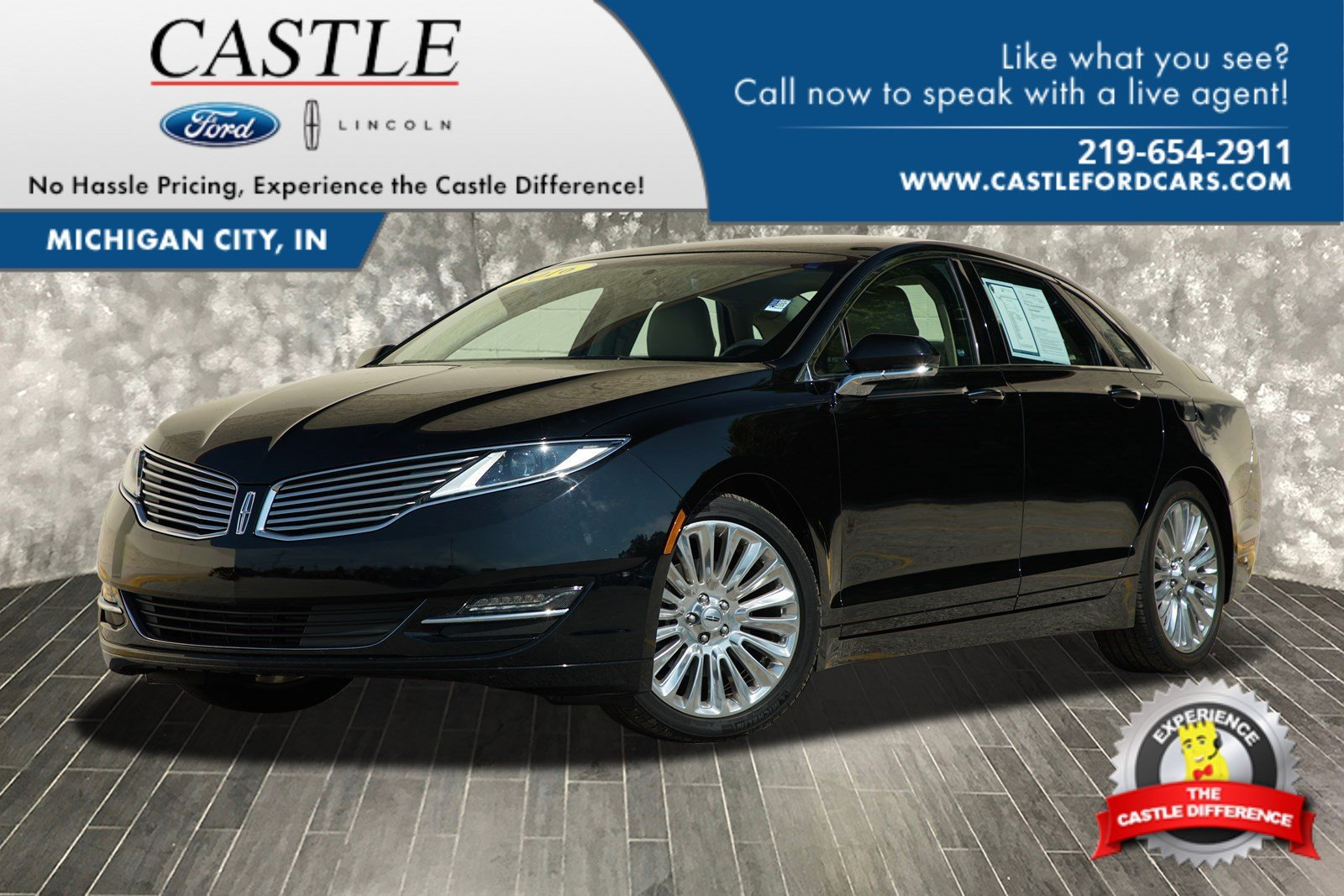 Pre Owned 2016 Lincoln Mkz 4dr Car In Michigan City A2350 Castle Ford