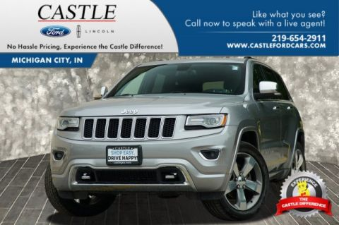 Pre-Owned 2015 Jeep Grand Cherokee Overland